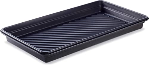 """New Pig Utility Containment Tray, Plastic, 23-Gallon Sump Capacity, 52"""" x 28"""" x 5"""