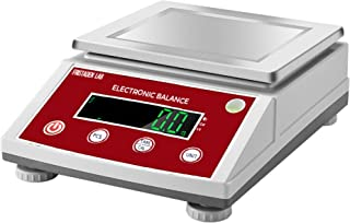 American Fristaden Lab Analytical Precision Scale 3000g x 0.01g   01 Gram Scale Weighs Grams, Ounces, Pounds, Carats   High Accuracy Digital Scale for Laboratory, Jewelry, Business   1YR Warranty
