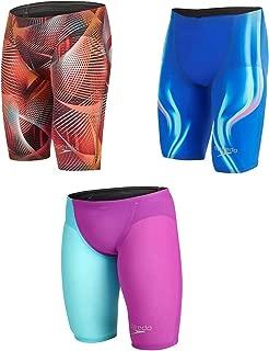 Speedo LZR Elite Jammers Mens Bottoms Swimwear Sportswear Medium Red/Black
