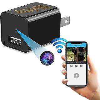 Spy Hidden Camera, WiFi Hidden Camera with Remote Viewing, 1080P HD Nanny Cam/Security Camera Indoor Video Recorder Motion...
