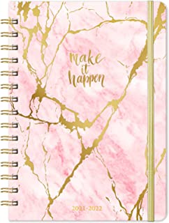 """2021 Planner – Weekly Monthly Planner 2021 for January 2021 – December 2021, 6.4""""x 8.5"""", Flexible Cover Planner with Elast..."""