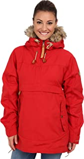 Fjallraven Women's Iceland Anorak W Sport Jacket, Red, S