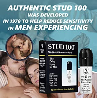 Stud 100 Male Genital Desensitizer Spray, 7/16- Fl. Ounce Box (Pack of 1