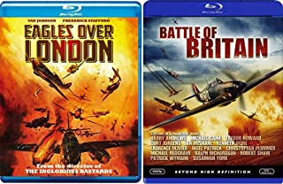 British War Movie Collection Battle Britain + Eagles over London Double Feature