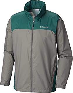 c5f66748421 Columbia Men s Glennaker Lake Front-Zip Rain Jacket with Hideaway Hood