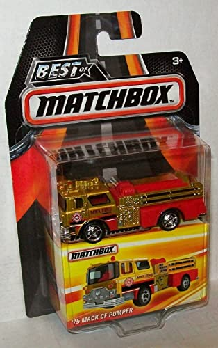en venta en línea 2016 Best of Matchbox Matchbox Matchbox Series 1 Limited Edition - '75 Mack CF Pumper with Rubber Tires  by Matchbox  salida