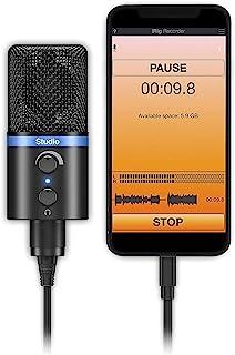 IK Multimedia Microphone, Black, (IP-IRIG-MICSTDBLA-IN)