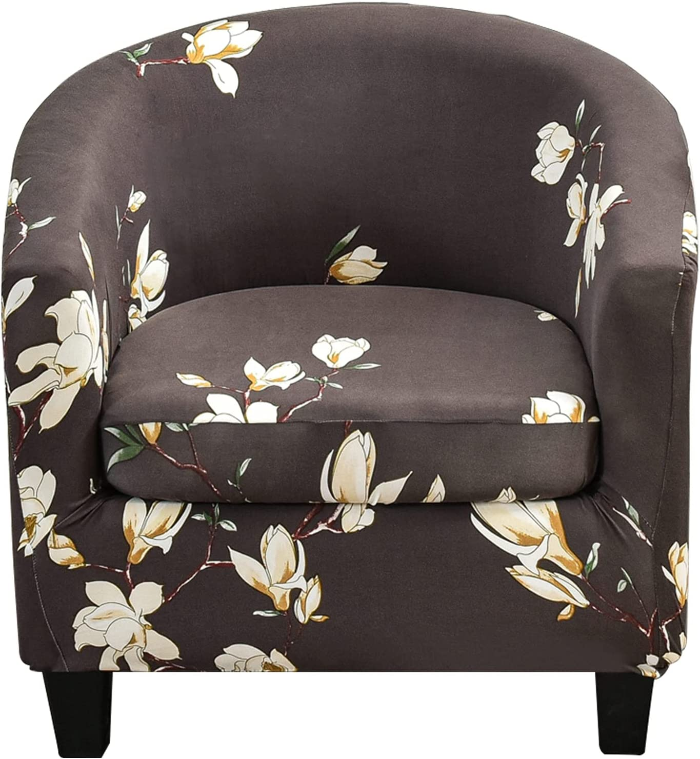 Tub Chair Slipcovers 2 Brand new Award Piece Club Stretch wi Printed Cover