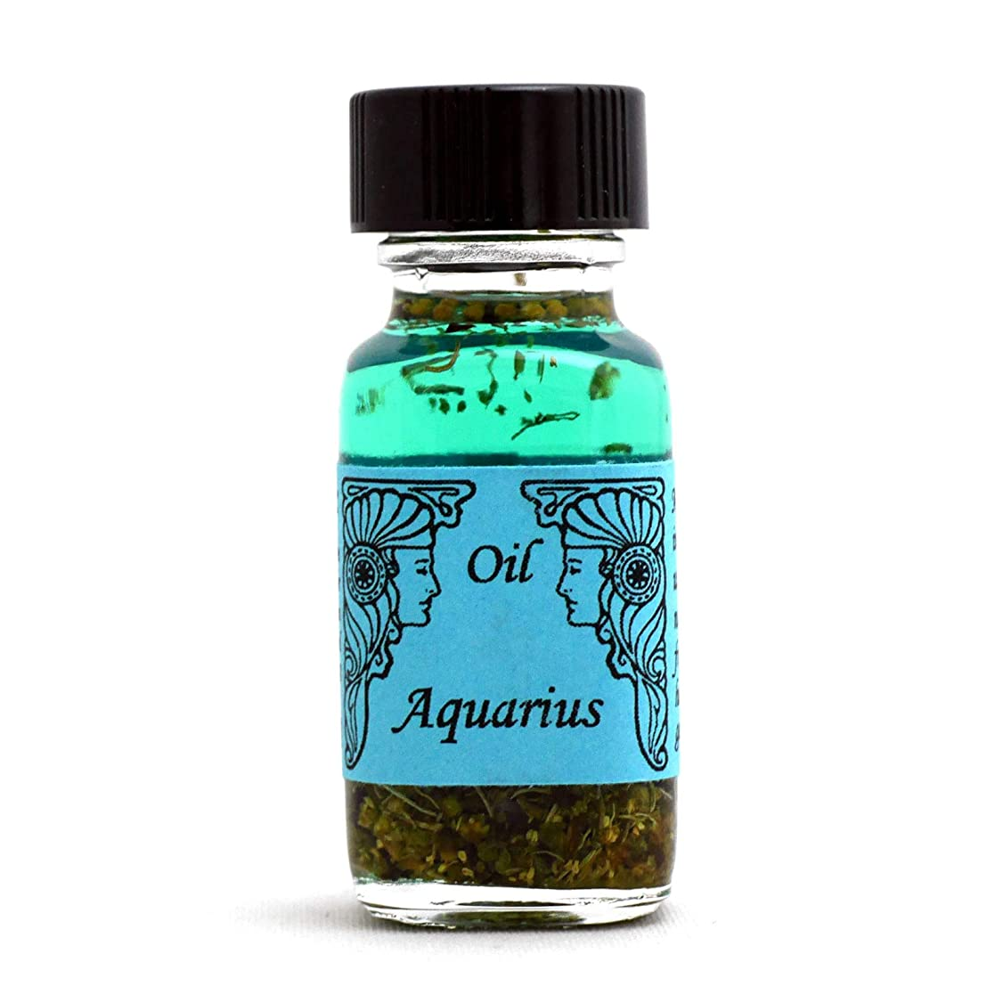 筋肉のダーベビルのテス有毒なアンシェントメモリーオイル 12星座オイル(占星術オイル)Aquarius 水瓶座 1月20日~2月18日