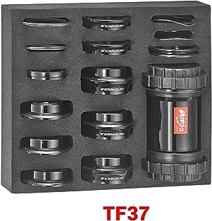 Token Products Ninja Bottom Bracket Press Fit PF30 / BB386 框架到 Shimano (24 毫米),SRAM GXP,BB30 和 BB386 曲轴套装