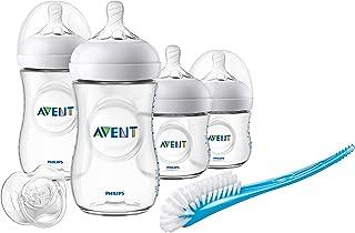 Philips Avent Natural Baby Bottle Starter Gift Set, SCD301/01