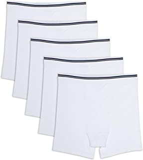 Men's Big & Tall 5-Pack Tag-Free Boxer Briefs fit by DXL