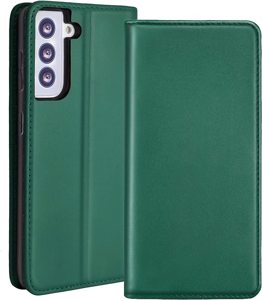 Redyrun, portafoglio, custodia per samsung galaxy s21 plus, in pelle e silicone, porta carte di credito, SG21+handycase-G