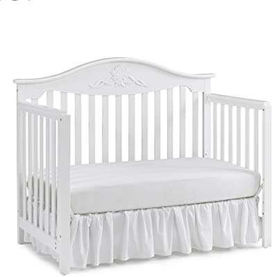 Fisher-Price Shannon 4-in-1 Convertible Crib, Frost White
