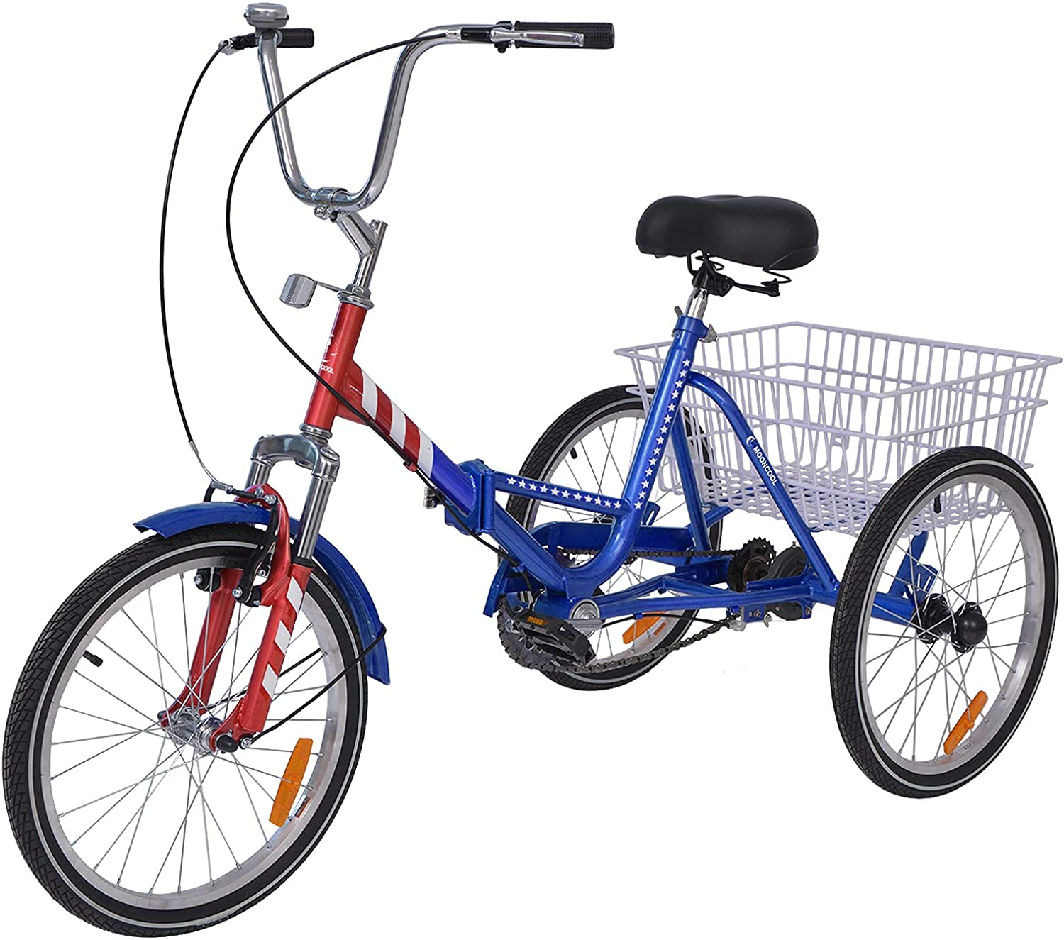 70%OFFアウトレット Barbella メーカー直売 Adult Folding Tricycles Bikes 24 26 7 Speed 20