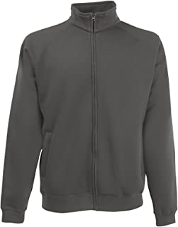 Fruit of the Loom Men's Classic 80/20 Sweatshirt Jacket
