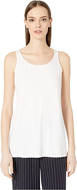 Scoop Neck Long Tank