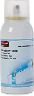 Rubbermaid Commercial Refill for Microburst 3000 Automatic Odor Control System, Linen Fresh, FG4012551