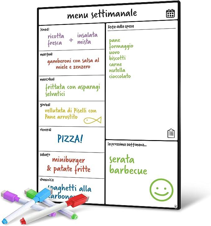 1199 opinioni per Smart Panda Lavagna Calendario Magnetico Frigorifero- Perfetta per Pianificare I