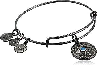 Alex and Ani Women's Evil Eye Bracelet, Midnight Silver