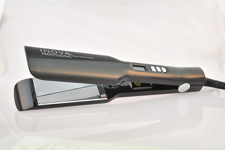 Inova Professional Titanium Ultra Pro Flat Inch US - Iron Max 75% OFF 67% OFF of fixed price 1.75