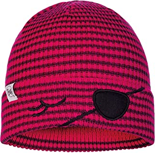 Buff Child Knitted & Fleece Hat