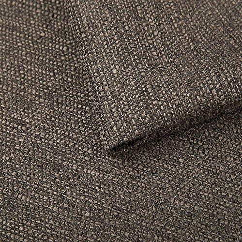 Pure Textilien Webstoff Strukturstoff Portland - Möbelstoff Polsterstoff Uni Meterware - braun 25