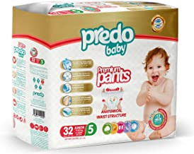 Predo Baby Premium Pants, XL 11-25kg, Size 5, 32 Pieces
