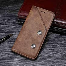 Case for Oukitel U7 Plus, Leather Stand Wallet Flip Case Cover for Oukitel U7 Plus,Retro Trend Phone Protection Shell,Wallet Phone case with[Cash and Card Slots]