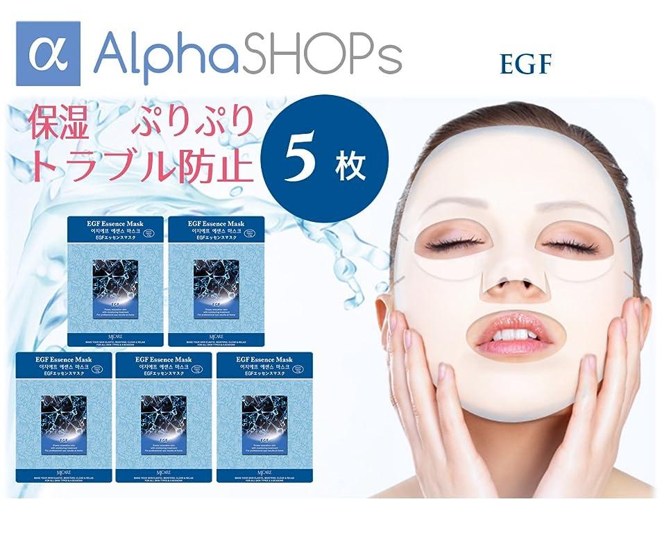 カポック写真撮影定常5枚セット EGF エッセンスマスク 韓国コスメ MIJIN(ミジン)