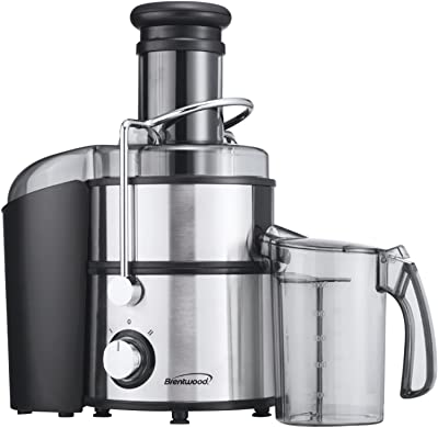 Brentwood JC-500 Stainless Steel Power Juice Extractor