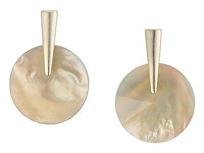Kendra Scott Jolie Drop Earrings (Gold/Gray Illusion) Earring