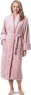 Fleece Robes for Women - Plush Bath Robe Womens