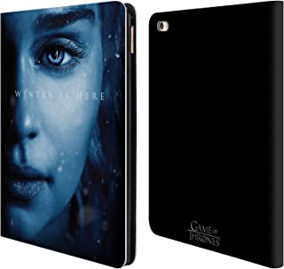 Official HBO Game of Thrones Daenerys Targaryen Winter is Here Leather Book Wallet Case Cover Compatible for iPad Air 2 (2014)