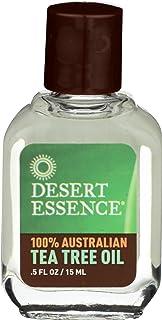 Desert Essence Tea Tree Oil 100% Pure Australian, 0.5 Oz