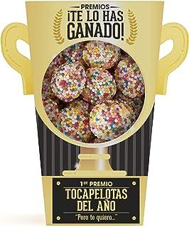 Designer Souvenirs - Trofeo de Gominolas y Chuches   Regalos Muy Originales Para Madres, Padres y Niños   Ideas Divertidas para Regalar en Cumpleaños, Fiestas, Comuniones y Aniversarios