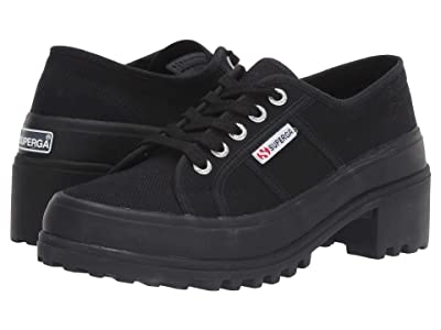 Superga 4850 Cotw Sneaker (Full Black) Women