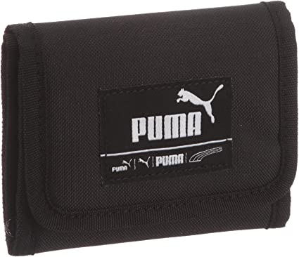 PUMA Portefeuille à carreaux 12 x 9,5 cm Noir noir taille unique ...