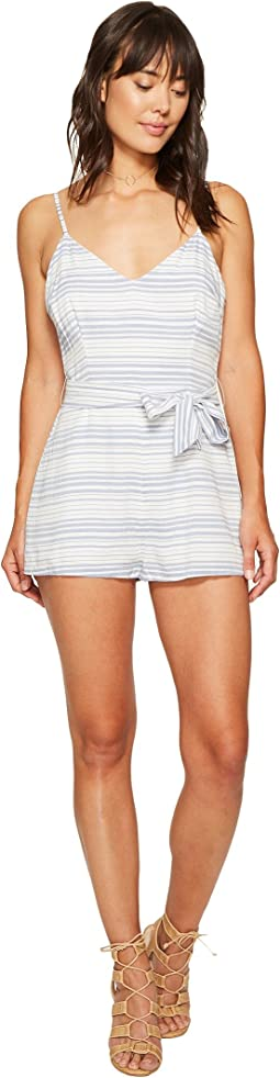 Gianna Striped Romper
