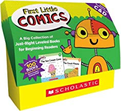 First Little Comics Classroom Set: Levels C & D: A Big Collection of Just-Right Leveled Books for Beginning Readers