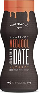Medjool Date Syrup - Cold-Pressed - Made from Organically Grown Jordanian River Medjool Dates - Non-GMO, Vegan, Kosher. 350g