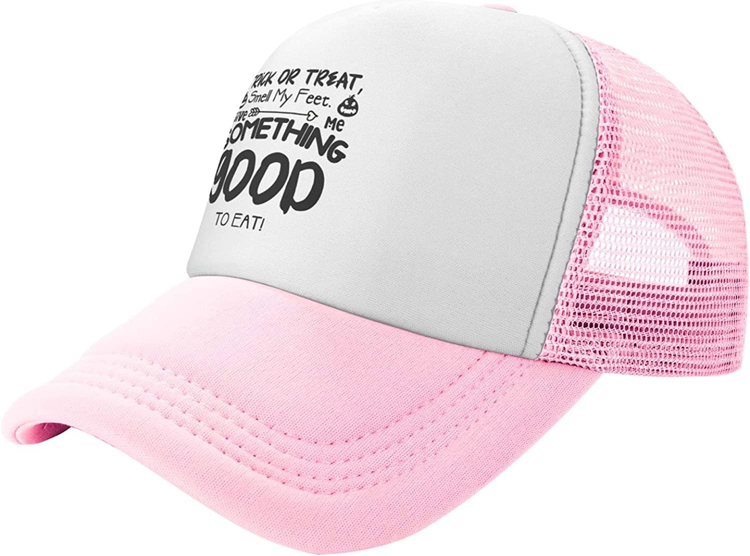 Summer Mesh Baseball Store Cap Trick Finally resale start Or Treat Give Me So Feet Smell My