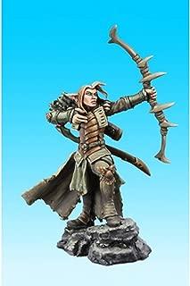 Arathanel, Elf Ranger - 1 Unpainted 28mm Heroic Scale Miniature - Dark Heaven Legends by Reaper Miniatures 03732