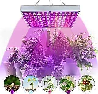 رشد نور 45 وات، Juhefa LED رشد لامپ با اشعه ماوراء بنفش پنل کامل اسپکتروم کارخانه رشد نور برای گیاهان داخل سالن همه مرحله رشد، گل سبزی گیاهان میوه ساقه نهال نهال