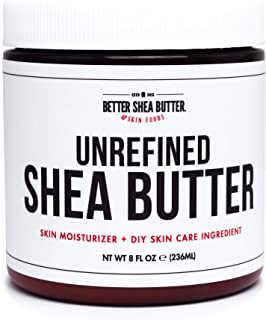 Sponsored Ad - Unrefined African Shea Butter - Ivory, 100% Pure & Raw - Moisturizing and Rich Body Butter for Dry Skin - S...