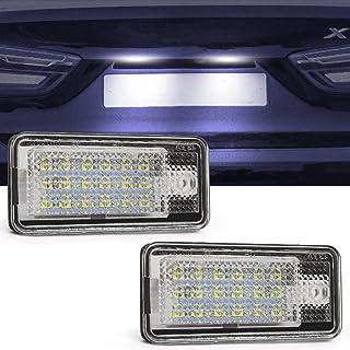 Morning May Luz para proyector para Puerta de cortes/ía LED para Coche Audi A3 VW//Skoda pie Nido Luces para l/ámpara Sombra Fantasma 6500K Blanco A6 A4