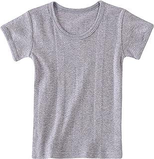 Unisex Baby Short Sleeve Tees Toddler Boys Girls Cotton Crewneck T-Shirts Little Kids Tops