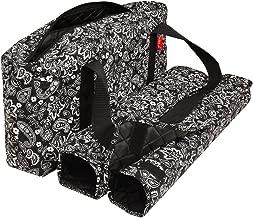 American-Wholesaler Inc. New! - Empty Mahjong Bag - Paisley Black Soft Bag by Linda Li - Empty Bag Only