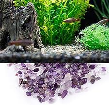 Tumbled Stone Set Stone för läkning av dekoration(Amethyst)