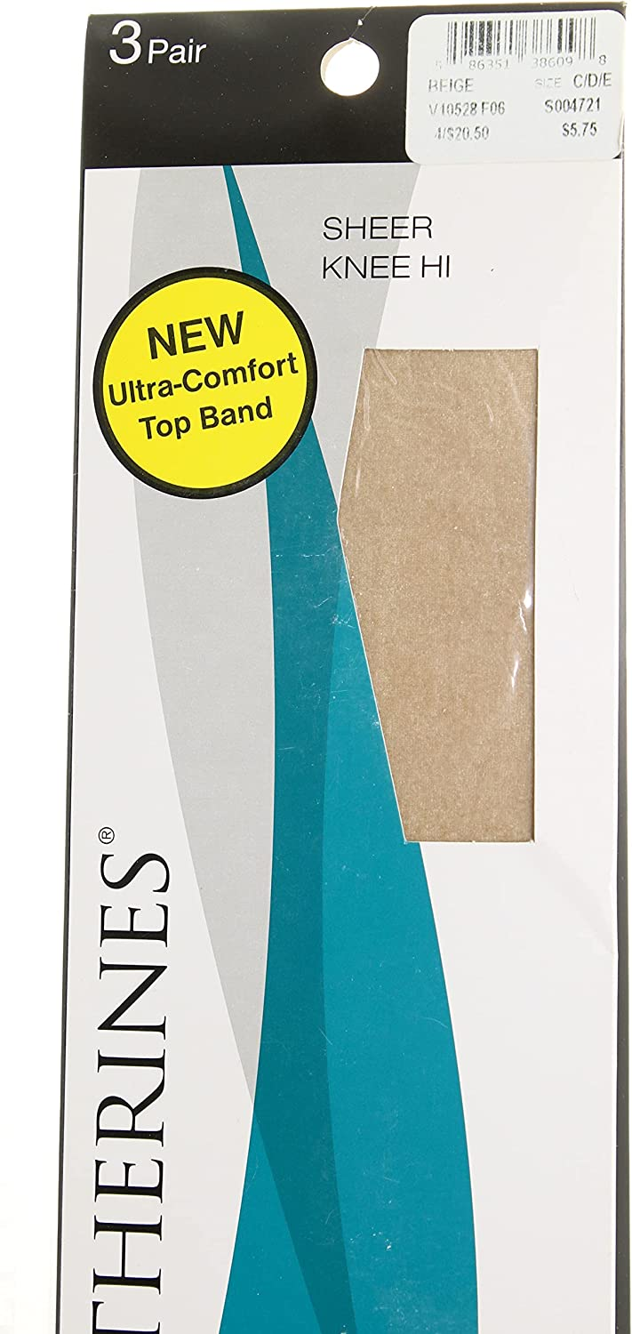 Catherines Women's Plus Size Sheer Knee-High
